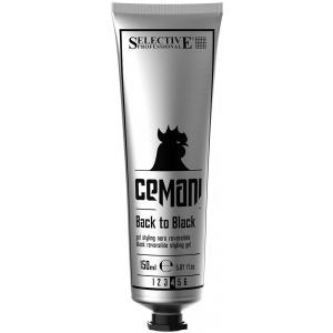 Гель для укладки волос с черным пигментом Selective Cemani