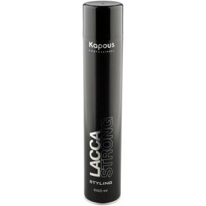 Лак для сильной фиксации волос Kapous