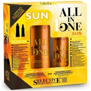 Набор после пребывания на солнце Selective All in One Sun