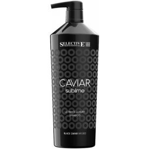 Шампунь для оживления ослабленных волос Selective Caviar Sublime