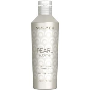 Шампунь с экстрактом жемчуга для светлых волос Pearl Sublime Selective