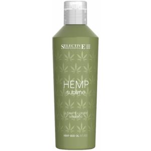 Шампунь с маслом семян конопли Selective Hemp Sublime