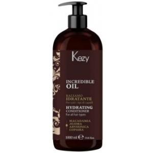 Кондиционер увлажняющий для всех типов волос Hydrating Kezy Incredible Oil