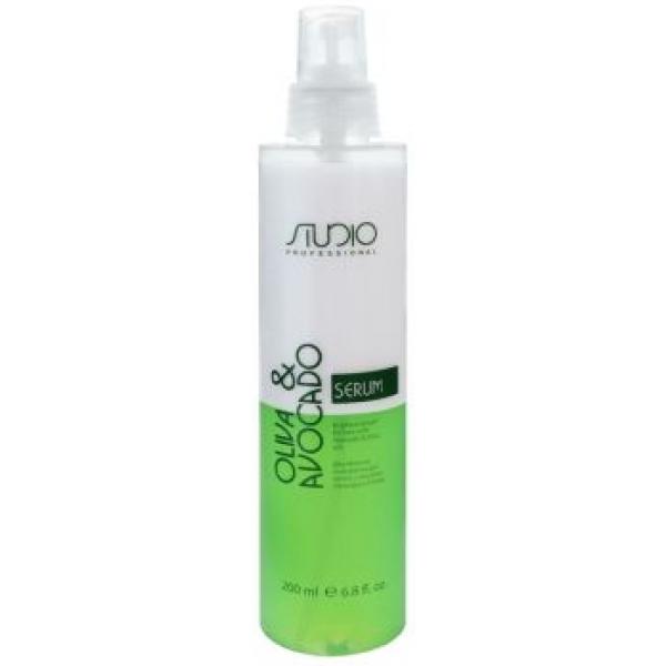Сыворотка для сухих волос с маслами Авокадо и Оливы Kapous Studio