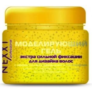 Nexxt Моделирующий гель экстрасильной фиксации для дизайна волос