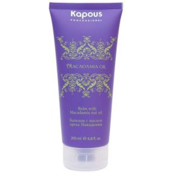 Бальзам для волос с маслом ореха макадамии Kapous Macadamia Oil