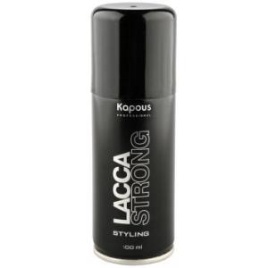 Лак сильной фиксации аэрозольный для волос Kapous