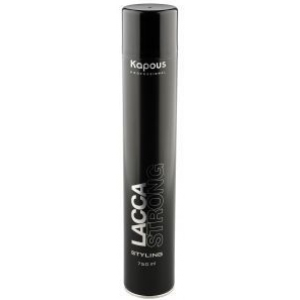 Лак сильной фиксации волос Kapous