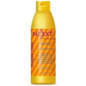 Шампунь серебристый для светлых и осветленных волос Nexxt Colour Silver