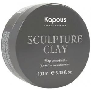 Глина нормальной фиксации для укладки Sculpture Clay Kapous