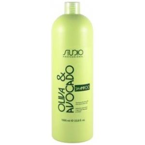 Шампунь увлажняющий для волос Kapous Studio Olive and Avocado