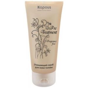Очищающий скраб для кожи головы Kapous Treatment