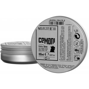 Воск для волос с глянцевым эффектом Extra Shine Selective Cemani