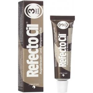 Краска коричневая для бровей и ресниц №3 Refectocil