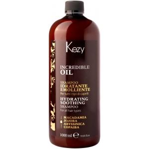 Увлажняющий шампунь для волос Kezy Incredible Oil