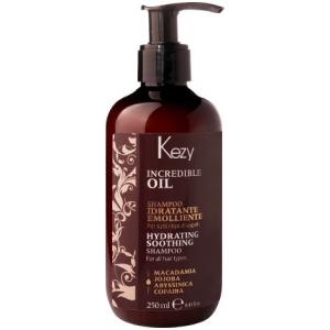 Kezy Incredible Oil Увлажняющий шампунь для всех типов волос