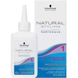 Комплект Schwarzkopf professional Natural Styling Glamour 1 для химической завивки